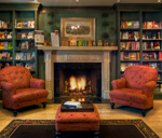 Mcintyres Books Fireplace Room - 1